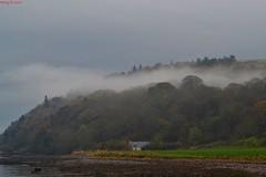 Cottage below the Mist (percy67) Tags: nature misty landscape scotland nikon cottage cromarty d3100