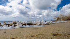 Waves 015 (holgileinchen) Tags: sun beach water strand island waves fuerteventura insel sonne atlanticocean esp spanien wellen atlantik jandia kanarischeinseln ozean