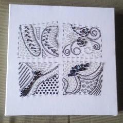 zentangle (Kaleidoscoop) Tags: embroidery borduren zentangle