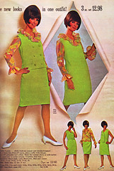 Spiegel 67 sale green ruffled (jsbuttons) Tags: clothing mod 60s buttons spiegel womens clothes 1967 catalog 67 sixties vintagefashion