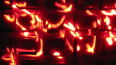 I found my laser pointer (uncoolbob) Tags: red lightpainting macro digital buttons calculator laser laserpointer canonpowershotsx110is