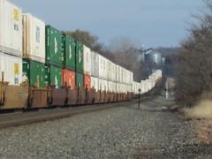 Garfield Sag 063 (Fan-T) Tags: train ns norfolk stack southern garfield sag prr intermodal
