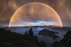 Light Show (Mark Metternich) Tags: park lake oregon video rainbow mt national crater caldera cascades lightening tours mazama workshops tutorials markmetternich wildforlightcom markmetternichcom