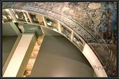 La tentación de Eva. (Cefepé) Tags: monasterio santamaría sixena huesca aragón sigena sijena mnac barcelona pintura románico gótico arco enjuta 1936 adán eva 2017 cefepé