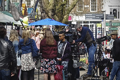 Movie [93/365 2017] (steven.kemp) Tags: norwich market wwe movie filming stephen merchant therock paige florence pugh