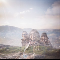 (statoingravitto) Tags: doubleexposure nature sun friendship lomo lomography dianamini film analog 35mm