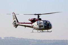Aerospatiale SA341G Gazelle N341AS (NTG's pictures) Tags: middlewallop hampshireengland gazelle50th anniversary fly in aac alat raf faa aerospatiale sa341g gazelle n341as
