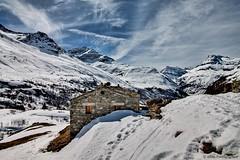 France-Parc de La Vanoise-Bonneval Sur Arc-4 (Kwen Lr photographies) Tags: canon 1100d montagne mountain hiver winter neige snow village bonneval alpes vanoise ecot paysage altitude ciel nuage