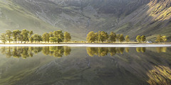 Good Morning Buttermere! (Kathy ~ FineArt-Landscapes) Tags: buttermere light sunlight reflections mountains trees lakedistrict cumbria water morning britain landscape