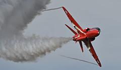 Red Arrow RAF Scampton Lincolnshire UK. (festoon1) Tags: redarrows rafscampton jet lincolnshire