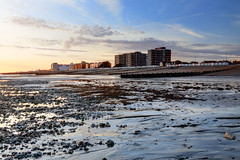 2017_02_24_0292_3_4_fused (EJ Bergin) Tags: beach seaside worthing westsussex sunset lowtide worthingseafront hdr exposurefusion