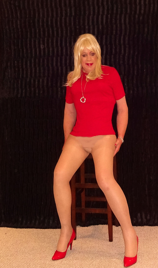 Shirt Mature Pantyhose 91
