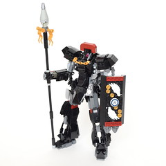 "MVCS-02-2B ""Hastati II"" Elite Guard Type (ExclusivelyPlastic) Tags: lego mech mecha robot japan gundam anime figure military scifi zeon"
