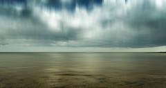 Sea Bed (Bruus UK) Tags: teignmouth devon polarise sly blur horizon coast abstract landscape seascape marine beach clouds sky seabed water sea reflection sand coastal