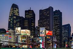 Shinjuku (.MiguelPU) Tags: nikon nikonespaña nikonistas night nikond5200 noche nikonista nikonjapan tamron tokyo tamron16300 tokio japan japon shinjuku rascacielos skyline sunset