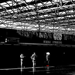Stazione Valle Aurelia, Roma (pom.angers) Tags: panasonicdmctz30 roma rome february 2017 lazio italia italy europeanunion station railway metropolitan police army 100 150
