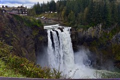 Snoqualmie falls (Beautification Syndrome) Tags: seattle trip snoqualmiefallstwinpeaks twinpeakstour twinpeakslocations snoqualmiefalls washington