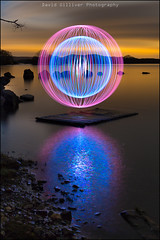 You see right through me (cropped) (Pikebubbles) Tags: davidgilliver davidgilliverphotography longexposure longexposures lightpainting lightjunkies lightpaintingtutorial lightpaintingebook lightpaintingworkshop lochlomond scotland paintingwithlight reflection reflections water night nightography nightphotography orb orbs