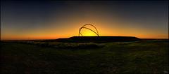 Look and dream (Lato-Pictures) Tags: halde hoheward ruhrgebiet sunset germany deutschland outdoor draussen ruhr ruhrarea horizon observatory waste dump