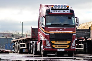 Ferguson Transport Corpach Volvo FH W14 AFT