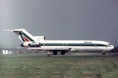 I-DIRJ Boeing 727-243 Alitalia (pslg05896) Tags: idirj boeing727 alitalia lhr egll london heathrow