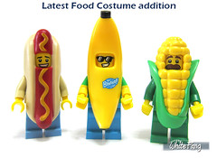 Latest Food Costume addition (WhiteFang (Eurobricks)) Tags: lego collectable minifigures series city town space castle medieval ancient god myth minifig distribution ninja history cmfs sports hobby medical animal pet occupation costume pirates maiden batman licensed dance disco service food hospital child children knights battle farm hero paris sparta historic
