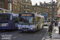First West Yorkshire 61038 (Luke Bowman's Photography) Tags: first west yorkshire 61038 scania l94ub wright axessfloline leeds boar lane