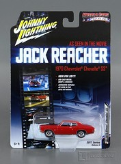 JACK REACHER 1970 CHEVROLET CHEVELLE SS 1:64 scale die cast Mint On Card by Johnny Lightning (LUNZERLAND!) Tags: jackreacher chevrolet chevelle chevy 1970chevroletchevelless tomcruise 164scale diecast diecastcar mintoncard moc hollywoodonwheels hollywoodcar moviecar musclecar musclecarsusa