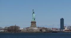 Miss Liberty (germancute) Tags: usa nyc downtowncitynyc bridge brücke liberty freiheitsstatue downtown staten island ferry wtc one tower turm leuchtturm