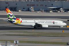 VP-CNG | Boeing 737-86Q/W | Cayman Airways (cv880m) Tags: newyork jfk kjfk kennedy airliner airplane jetliner aircraft boeing vpcng 737 738 737800 73786q winglet cayman caymanairways sirturtle