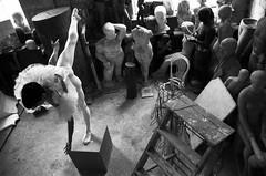 Solo ballet (N.Katsuk) Tags: tutu ballet sculpture blackandwhitefilm filmphoto