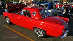 1955 Ford Thunderbird (l.e.violett) Tags: automobile 1955 ford thunderbird california carshow pse