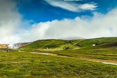 Krafla, Iceland (webeagle12) Tags: krafla power plant iceland nikon d7200 europe mountains landscape vegetation rocks nature mountain earth planet reykjahlíð north volcanic lava fields volcano crater lake