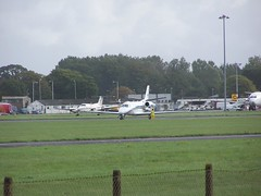 G-SIRS (IndiaEcho Photography) Tags: gsirs cessna 560 citation excel eghh boh bournemouth international airport hurn dorset england