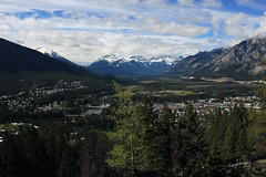Last Look from Tunnel Mountain (JB by the Sea) Tags: canada rockies alberta banff rockymountains banffnationalpark tunnelmountain canadianrockies september2014