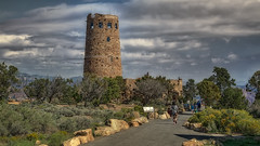 Desert View Watchtower (emptyseas) Tags: park arizona usa nikon view desert grand canyon east national exit watchtower d800 emptyseas