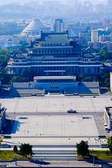 Pyongyang, from the Juche Tower (jonas_k) Tags: travel northkorea pyongyang dprk pjngjang