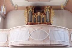 St. Laurentius, Kleinsassen, Orgel (palladio1580) Tags: hessen organ organo barock orgel rhn orgue kleinsassen landkreisfulda