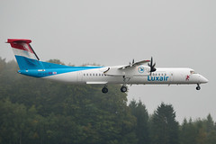 Luxair - Dash8 - LX-LGG (yak_40) Tags: lux dash8 luxair dash8q402 lxlgg