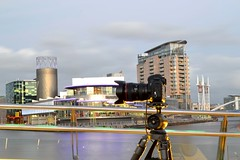 Salford Quays & Camera (Duane Jones Cheshire1963) Tags: museum architecture canon manchester jones nikon war flickr tripod imperial salford quays lowry duane d3100 flickrhive