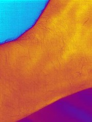Arteries under the skin - thermal movie (Ultrapurple) Tags: england test hot cold color colour nature colors closeup ir blood colorful experimental colours spectrum invisible secret awesome experiment medical wierd heat infrared vein artery veins colourful wacky thermal naturalworld android arteries lowres forensic imager thermalimage colouredlight thermalcamera thermography wierdscience thermographic thermalimager lwir nexus5 thermalportrait thermapp androidthermalcamera