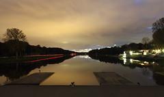Bosbaan (astritmorina23) Tags: lake nature amsterdam night canon landscape lights europe netherland rowing dslr bos amsterdamsebos bosbaan
