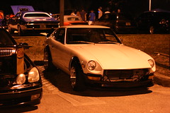 240Z. (Joe Folino ( LoopRunner )) Tags: classic car japan vintage japanese nissan florida midnight z meet usf meets jdm datsun fairlady wangan