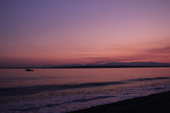 beach olympic mountains puget sound #ilobsterit