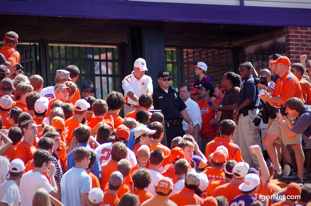 Clemson Photos: 2008, Football, N C  State, Tommy  Bowden