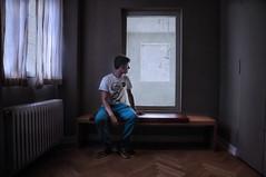 Para Diego... (pimontes) Tags: boy ventana interior sit museo chico dinamarca joven sentarse copenhague asiento windons