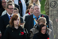 D4S_4859.jpg (ffoto keith morris) Tags: uk people wales town war ceremony aberystwyth service welsh warmemorial remembering remembrancesunday