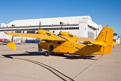 Private Grumman G-44 Super Widgeon N45PV (jbp274) Tags: vintage airport display airplanes amphibian airshow miramar widgeon grumman mcasmiramar g44 knkx nkx