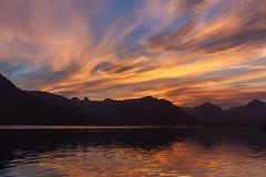 At sunset in Faskrudsfjordur (*Jonina*) Tags: sunset sky reflection clouds iceland 500views ísland 1000views ský himinn speglun sólsetur 50faves fáskrúðsfjörður faskrudsfjordur jónínaguðrúnóskarsdóttir