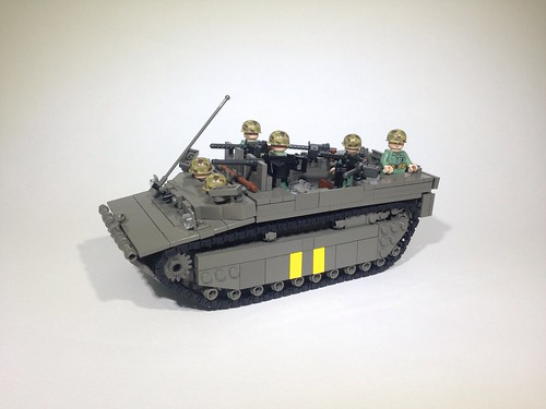 LVT-4 with Willys Jeep